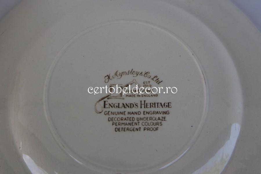 old pottery set Ansley England   Certobeldecor